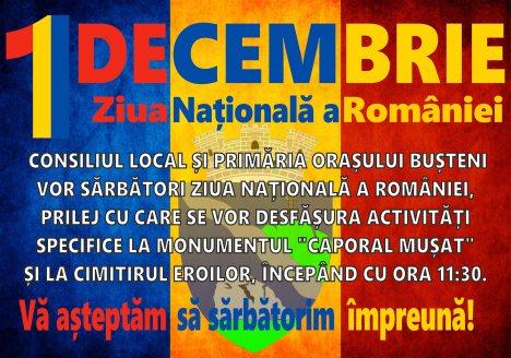 1 decembrie Busteni