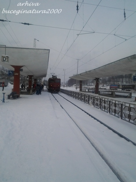 tren in gara Predeal