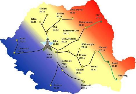 harta stele pentru veterani